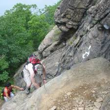 Ascending Breakneck Ridge
