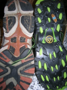 Old sole, new sole.
