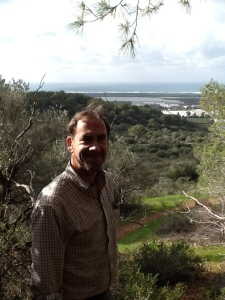 View of the Mediterranean from Nachal Meorot
