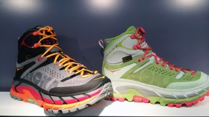 Hoka One One boot. Photo by Brian Metzler, from running.competitor.com