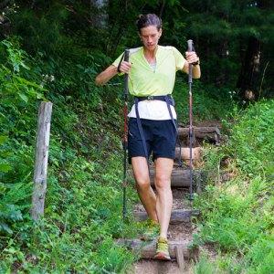 Pharr Davis on the trail. Appalachianjake.wordpress.com